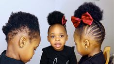 Black Toddler Hairstyles, Cute Hairstyles For Medium Hair, Natural Hairstyles For Kids, Kids Braided Hairstyles, Summer Hairstyles, Girl Hairstyles, Toddler Braid Styles, Toddler Braids, Braids For Kids