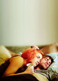 You can erase someone from your mind. Getting them out of your heart is another story. Kate Winslet & Jim Carrey in Eternal Sunshine of the Spotless Mind (Michel Gondry, Kate Winslet, Love Movie, Movie Tv, Michel Gondry, The Truman Show, Bon Film, Films Cinema, Film Inspiration, Jim Carrey