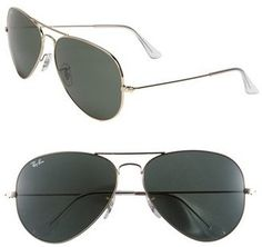 Ray-Ban 'Large Original Aviator' 62mm Sunglasses #sunglasses #womens #summer