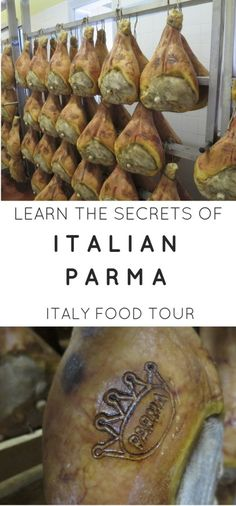 Must do Parma food tour in Italy.  Learning how Parma is not the same as ham is quite the experience.   The best food tour in Parma Italy.  A must for any travelling foodie. Learn how parma ham, balsamic vinegar and parmigiano reggiano cheese is made, the authentic way.
