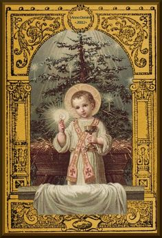 A Catholic Life: Christmas Eve: Fasting & Abstinence Religious Images, Religious Art, Bernadette Of Lourdes, Communion Prayer, Infant Of Prague, Vintage Holy Cards, Daughters Of The King, Jesus Pictures, Catholic Art