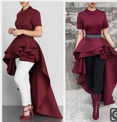 This Gorgeous symmetric top goes with everything and suitable for any occasion Indian Gowns Dresses, Indian Fashion Dresses, Indian Designer Outfits, Girls Fashion Clothes, Muslim Fashion, African Fashion, Designer Dresses, Women's Dresses, Stylish Dress Designs
