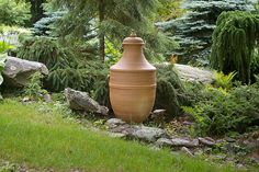 Stephen Proctor: monumental vessel, ceramic vessel, garden urn, garden art, garden ornament, garden vessel