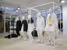 Aitor Throup sculptures on display at Dover Street Market - Retail Focus - Retail Blog For Interior Design and Visual Merchandising