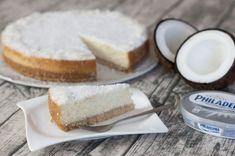 Kokosový cheesecake s bílou čokoládou Cheesecakes, Dairy, Salts, Baking, Sweet, Food, Candy, Cheese Cakes, Bakken