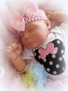 FOREVERBABIES~ Baby Reborn Doll Girl Newborn Lifelike Vinyl Handmade Dolls Cheap