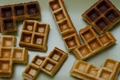 Tetris waffles. Why did I not think of this?!