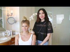 Jen Atkin on how to do a top knot | Vogue Australia Beauty - YouTube