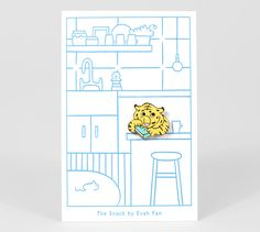 Evah Fan pin: The Snack