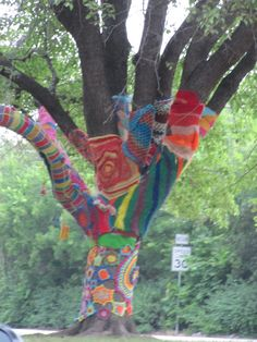 My hood - Lakewood Yarnbombs at the Library dallas-haunts Find Color, Do It Yourself Projects, Art Music, Art And Architecture, Inspire Me, Make Me Smile, Dallas, Places To Go, Diy Crafts