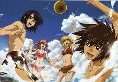 Gundam Seed Destiny : Lacus Clyne & Kira Yamato   Athrun Zala and Cagalli Yula Athha
