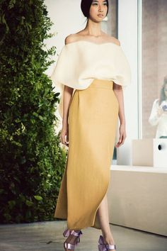 DELPOZO Spring / Summer 2014 collection shown at New York Fashion Week
