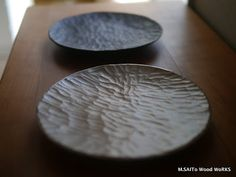 How to Build a Great Drawer For Your Silverware - Artistic Wood Products Wooden Ladle, Wooden Plates, Wooden Art, Ceramic Plates, Ceramic Pottery, Wooden Chopping Boards, Woodworking Inspiration, Plate Crafts, Wood Bowls