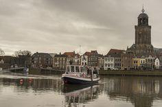Deventer - Ferry across the Ijssel