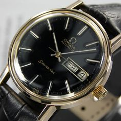 A personal favorite from my Etsy shop https://www.etsy.com/listing/264493317/1977-vintage-omega-seamaster-cal-1022