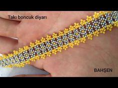 Seed Bead Tutorials, Beading Tutorials, Bead Jewellery, Diy Jewelry, Seed Beads, Seed Bead Earrings, Beaded Earrings, Bracelet Patterns, Beaded Bracelets Tutorial