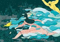 Elisa Macellari è un'illustratrice italo-tailandese nata a Perugia. Vive a Milano. E' specializzata in illustrazione per bambini e graphic design editoriale. Elisa ama le cose colorate, gli animali selvatici, la giungla, le creature misteriose, gli oggetti strani e la zuppa tom yum.