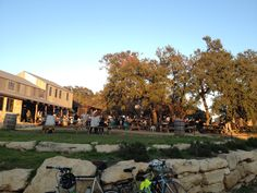 Jester King Brewery Gorgeous space for hanging out in the hill country with good beer and room for the kids to roam. Open Friday, Saturday and Sunday afternoon/evenings. Get there early for Stanley's Farmhouse Pizza too (before the lines get long!).