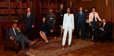 Scandal. Huuuuuuuge love for this incredible show!! Watched the 3 seasons in a record time! Team Olitz