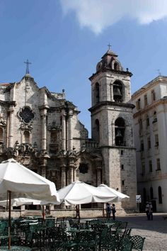 """""""El Patio"""" - Pl. Catedral - La Habana   - Explore the World with Travel Nerd Nici, one Country at a Time. http://TravelNerdNici.com"""