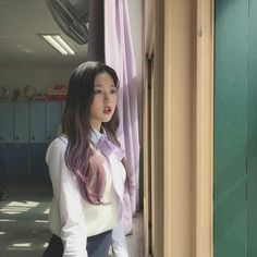 Yuri, Korean Girl, Asian Girl, Girl Korea, Woo Young, Japanese Girl Group, School Uniform, No Name, Pretty People