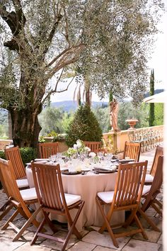 Stunning countryside view in Provence