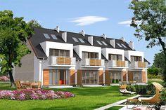 Projekt domu Fossano DCSW13 136,02 m2 - koszt budowy 208 tys. zł - EXTRADOM Green Life, Home Fashion, Luxury Homes, Mansions, House Styles, Modern, Houses, Home Decor, Condos