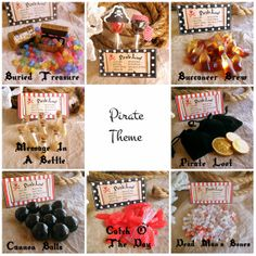 Pirate Party favors - Etsy