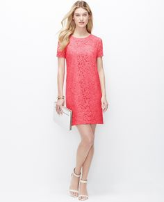 Since most weddings are soft and romantic, a lace dress is perfect for the occasion!