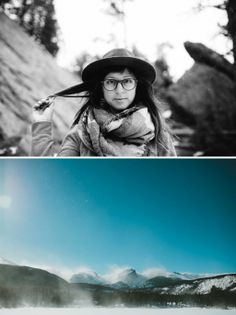 JOHN RUVIN FOCAL POINTS PROJECT - Abbey Moore in Colorado with JR&Co Eyewear #photography #focalpoints #inruvin #colorado #glasses #sunglasses #explore #hike #wilderness