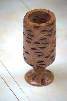 Unique banksia tealight candle holder