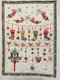 Quilted Advent Calendar Christmas Advent by PatsPassionQuilteds