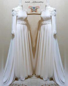 Dress Patterns Wedding New Looks Hijab Dress Party, Hijab Wedding Dresses, Wedding Dress Patterns, Bridal Gowns, Wedding News, Wedding Styles, Simple Hijab, The Dress, Dream Dress