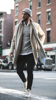 Mens Fall Outfits, Stylish Mens Outfits, Casual Winter Outfits, Winter Fashion Outfits, Men Winter Fashion, Street Fashion Men, Winter Wear For Men, Most Stylish Men, Street Wear For Men