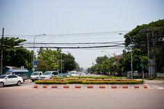 Downtown of Vientiane