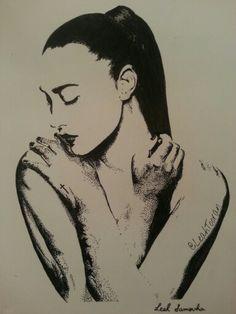 Demi Lovato drawing