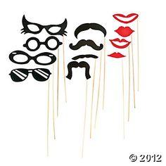 Stick Costume Props from Oriental Trading ($7.25 per dozen)