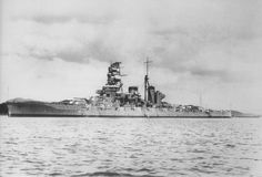 Haruna at Yokosuka in 1935.  Throughout 1943, Haruna primarily remained at Truk Lagoon (Micronesia), Kure Naval Base, Sasebo Naval Base (near Nagasaki), and the Lingga Islands (in present-day Malaysia). Haruna participated in the Battle of the Philippine Sea and the Battle of Leyte Gulf in 1944, engaging American vessels in the latter. In 1945, Haruna was transferred to Kure Naval Base, where she was sunk by aircraft of Task Force 38 on 28 July 1945.