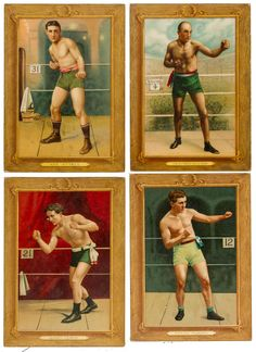 Turkey Red Boxers SGC-Graded Collection Offered is a collection of four Turkey Red Cabinet - Available at 2013 May 2 - 4 Vintage Sports. Kickboxing, Bare Knuckle Boxing, Boxing Posters, Boxing History, Fight The Power, Art Rules, Mma, Classic Tattoo, King Of Hearts