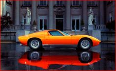 """Muira - the word """"supercar"""" was first coined when this car was shown at the Geneva motor show"""