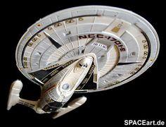 Star Trek: U.S.S. Enterprise NCC-1701-E Star Trek Enterprise, Uss Enterprise Ncc 1701, Star Trek Starships, Star Trek Models, Stark Trek, Star Wars, Star Trek Universe, Star Trek Ships, Spaceship