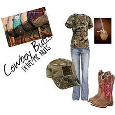 Casual, created by camo-ammo-queen on Polyvore
