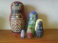Dalek Nesting Dolls.