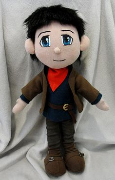 BBC's Merlin. This is such a great looking plushie, looks just like him!