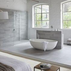Vrijstaand bad Luva solid surface- Italiaans badkamer design via ...