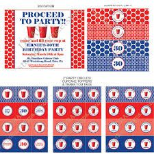 red solo cup party supplies - Google Search