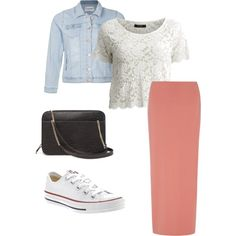 Modest outfit by apostolicgirl85 on Polyvore