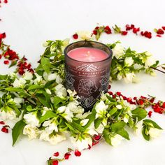 Set the scene with a romantic candle lit dinner for Valentine's Day. Fill your living space with romance and style with our hand poured, all natural, spicy rose scented candle. Add a sense of fragrant opulence to any room. Paraffin Candles, Soy Candles, Scented Candles, Candle Jars, Romantic Candle Light Dinner, Fragrant Candles, Candles Online, Candle Diffuser, Natural Candles