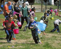 "Youngsters enjoy treats at Spencer Easter ""Eggstravaganza"""