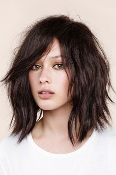 """UK celebrity stylist @georgenorthwood shows us the haircut of the season: the bob. The Girl: """"This look is inspired by Rosie Huntington-Whiteley – it's how I cut her hair most recently."""" For: """"The California cool girl, this is a supermodel-style bob. Beautiful rather than really edgy, and modern without being too scary. If you're not ready to commit to a short bob, this is for you."""" Hair Type: """"This really does suit all hair types."""""""